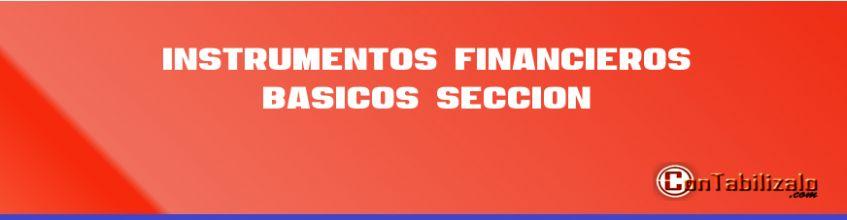 Instrumentos Financieros Básicos Sección 11