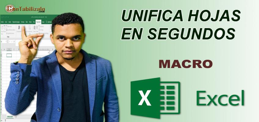 VBA Excel - Unificar hojas Con Excel